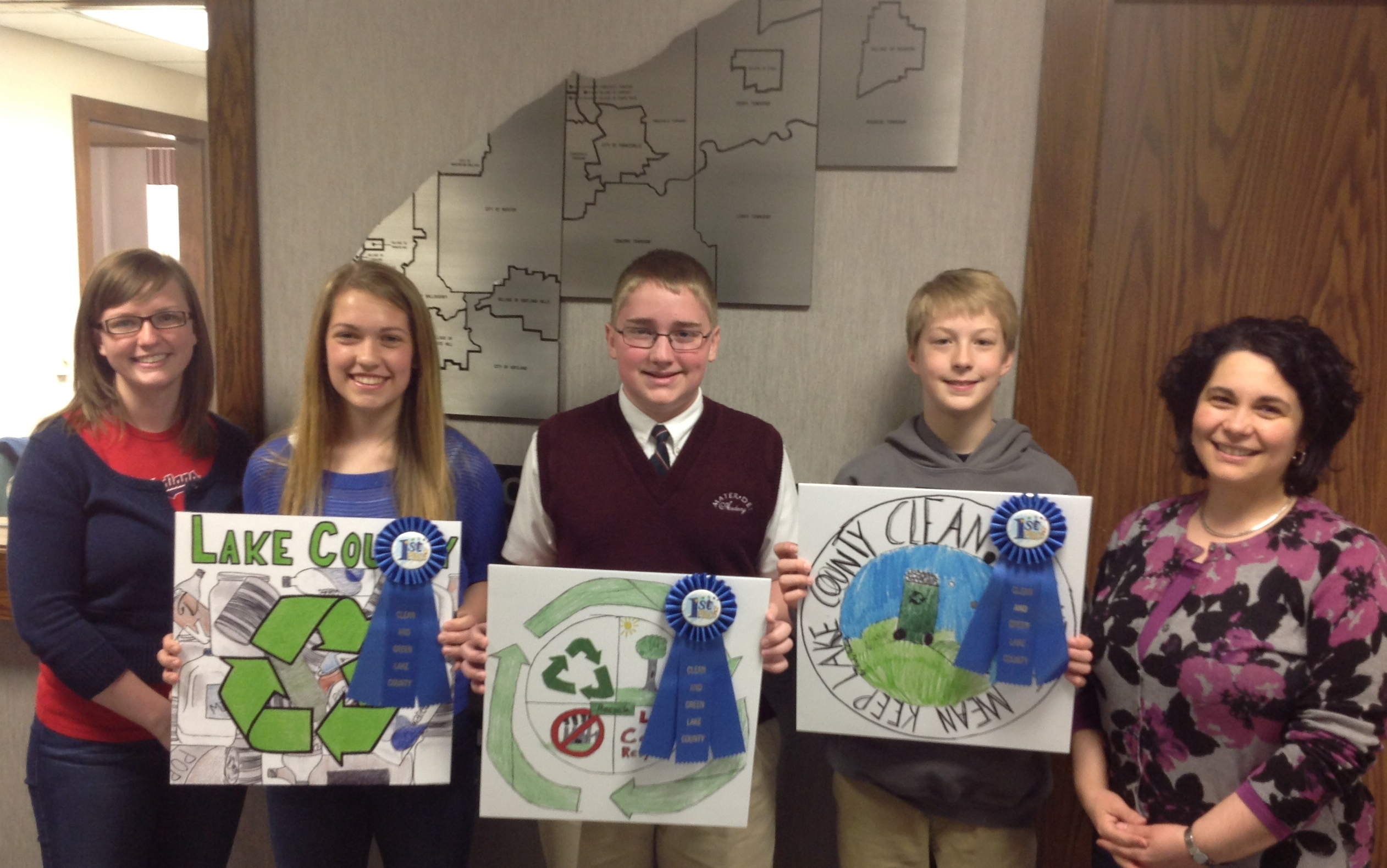 Recycling Contest Winners